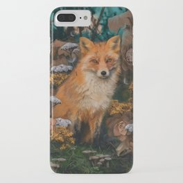 The Fox In The Forest iPhone Case