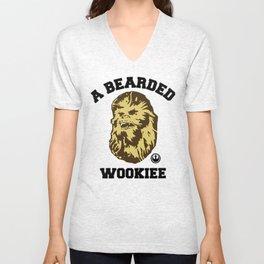 A Bearded Wookiee Unisex V-Neck