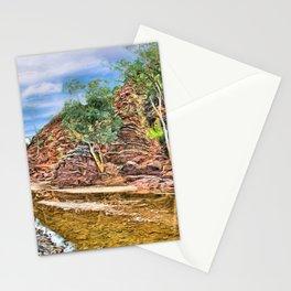 Rocks at Brachina Gorge, Flinders Ranges, Sth Australia Stationery Cards