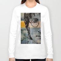 john snow Long Sleeve T-shirts featuring John  by lyneth Morgan