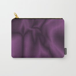 Lilac silk Carry-All Pouch