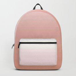 Just Peachy Gradient Backpack