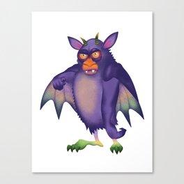 Batsquatch Canvas Print