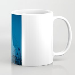 Faded Moon Coffee Mug
