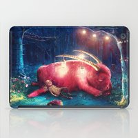wild things iPad Cases featuring WILD THINGS by Ryan Laing