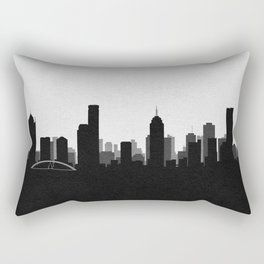 City Skylines: Melbourne Rectangular Pillow
