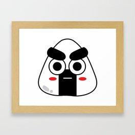 Rice Ball Jr. Framed Art Print