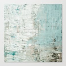 bluish green Canvas Print