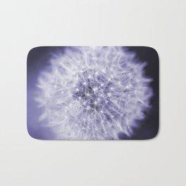 Blue Dandelion Bath Mat