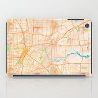 houston iPad Cases featuring Houston, Texas by Emily Day