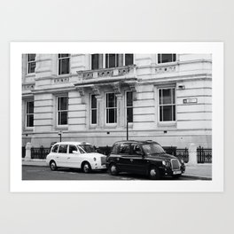 Black and White London Street Photography Art Print