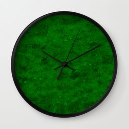 Green World Wall Clock