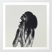 abyss Art Prints featuring Abyss by Andreas Lie