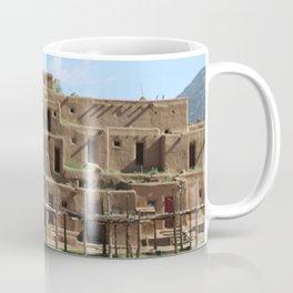 A Taos Pueblo Building Coffee Mug