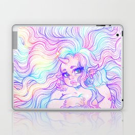 Rainbow Mermicorn (Pastel Version) Laptop & iPad Skin