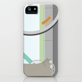Elephants Can Ride Bicycles Too iPhone Case