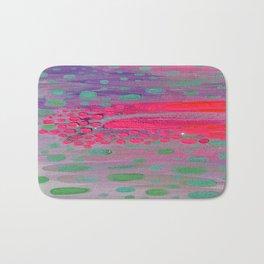 Abstract Rainfall Bath Mat
