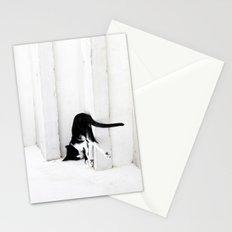 Black on White 2 Stationery Cards