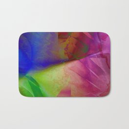Multicolored abstract 2016 / 019 Bath Mat