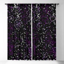 Purple Lights Blackout Curtain