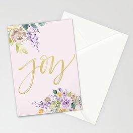 Joy Illustration Stationery Cards