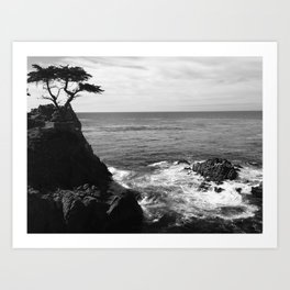 Pebble Beach  Art Print