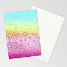 UNICORN GLITTER Stationery Cards