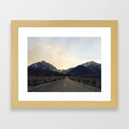 Getting Away Framed Art Print