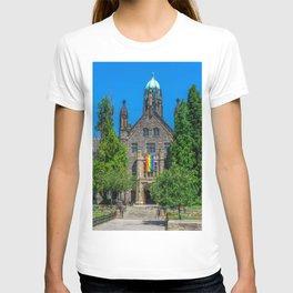 Church With LGBT Pride Flag T-shirt