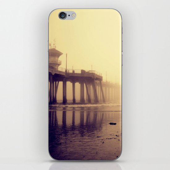 Huntington Beach Pier iPhone & iPod Skin