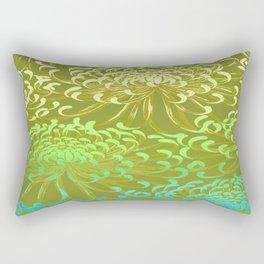 floral mums Rectangular Pillow