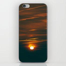 Toronto sunset iPhone Skin