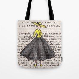 1950s Paris Chic Tote Bag