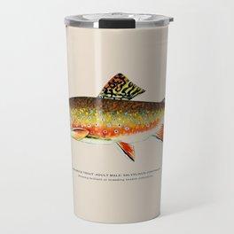 Brook Trout Travel Mug