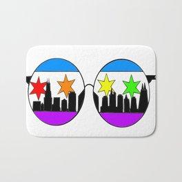 chicaGOggles Pride Bath Mat