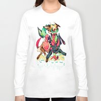 gore Long Sleeve T-shirts featuring GLITTER GORE by alipeanut