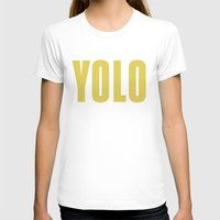 yolo T-shirts featuring YOLO by B.you