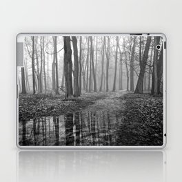 Quiet Reflections in the Forest - The Peace Collection Laptop & iPad Skin