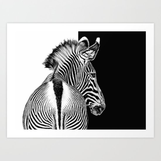 designed by nature Art Print