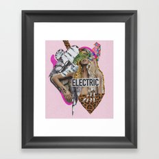 ELECTRIC FANTA-SIA  Framed Art Print