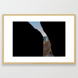 Faille Framed Art Print