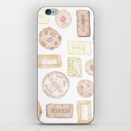 Biscuit barrel iPhone Skin