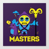 skeletor Canvas Prints featuring SKELETOR by Maioriz Home
