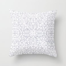 Makai Geo White Throw Pillow