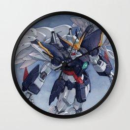Gundam Wing Zero watercolor Wall Clock
