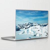 alaska Laptop & iPad Skins featuring Alaska by Elise Giordano