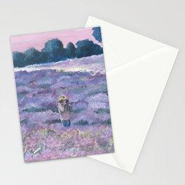 Champ de lavande Stationery Cards