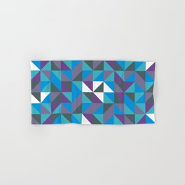 Triangle Pattern Hand & Bath Towel