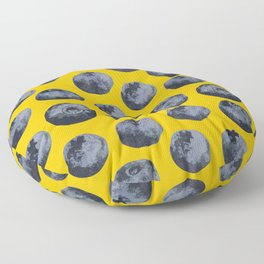 Blueberry pattern Floor Pillow