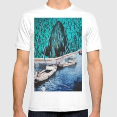 Fish Festival Mens Fitted Tee White MEDIUM